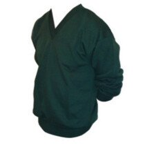 Whytes WH09 [CL] V-Neck Sweatshirt Bottle Green