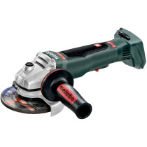 "Metabo WPB18LTXBL125Q Body Only 18v 125mm (5"") Angle Grinder with Carry Case"