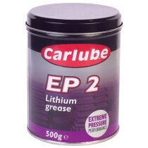 Tetrosyl Carlube XGE500 EP2 Lithium Grease 500gr Tub