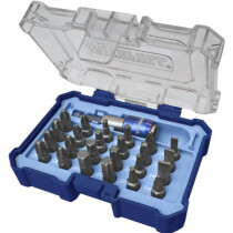 Faithfull FAISBSET25Q Quick-Change Screwdriver Bit Set 25 Piece