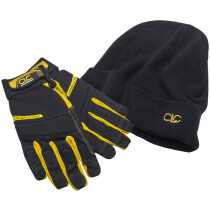CLC PK-4015 Framer's Flexigrip Hi-Dexterity Gloves and Beanie Hat