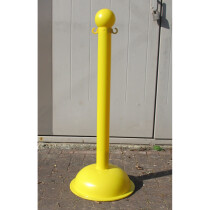 JSP Sherpa KIT000963 Heavy Duty Yellow Chain Support Post and Yellow Base