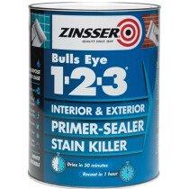 Zinsser ZN7040001D1 Primer - Sealer Bulls Eye 123 1 Litre ZINBE1231L