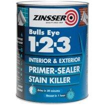 Zinsser ZN7040001C1 Primer - Sealer Bulls Eye 123 2.5 Litre ZINBE12325L