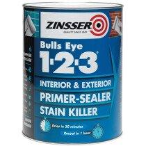 Zinsser ZN7040001E1 Primer - Sealer Bulls Eye 123 500ml ZINBE123500