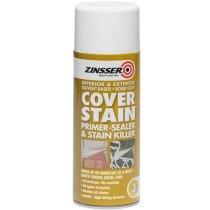 Zinsser ZN7140001E8 Cover Stain® Primer 400ml Aerosol ZINCSP400A