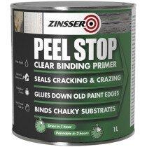 Zinsser ZN70604 Peel Stop® Clear Binding Primer 1 Litre ZINPSP1L