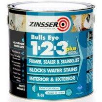 Zinsser ZN7170001D1 Primer - Sealer Bulls Eye 123 Plus 1 Litre ZINBE123P1L