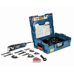 Bosch GOP 55-36L 550W Starlock Max / Starlock Plus / Starlock Multi-Cutter with 25 Accessories in L-Boxx