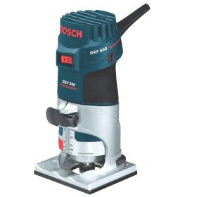 """Bosch GKF 600 1/4"""" 6-8mm Professional Palm Router"""