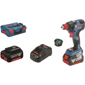Bosch GDX 18 V-200 C 18v Connection ready Impact Wrench/Driver in L-BOXX (2 x 5.0 Ah)