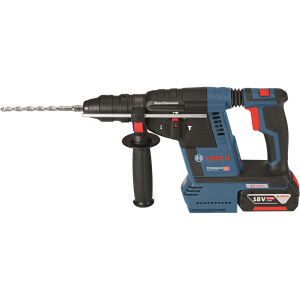 Bosch GBH 18 V-26 F 18v BRUSHLESS SDS-Plus Hammer with Quick Change Chuck in L-BOXX (1x8.0Ah, 1x6.0Ah)