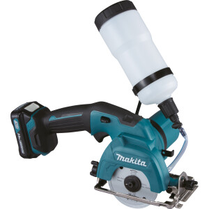 Makita CC301DWAE 10.8v Tile / Glass Cutter 85mm CXT + 2x Batteries and Charger
