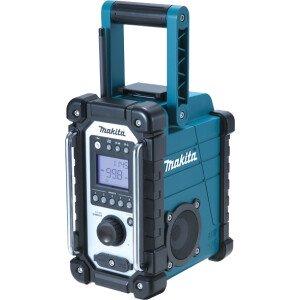 Makita DMR107 Body Only Jobsite AM/FM Radio Mains or Cordless Blue