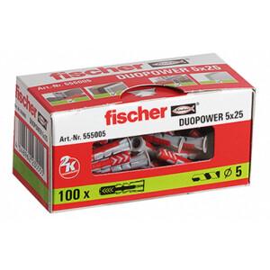 Fischer DUOPOWER D/übelset 25 mm 535213 1 Set