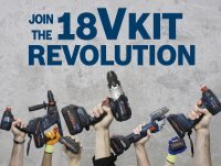 Bosch 18v Kit Revolution