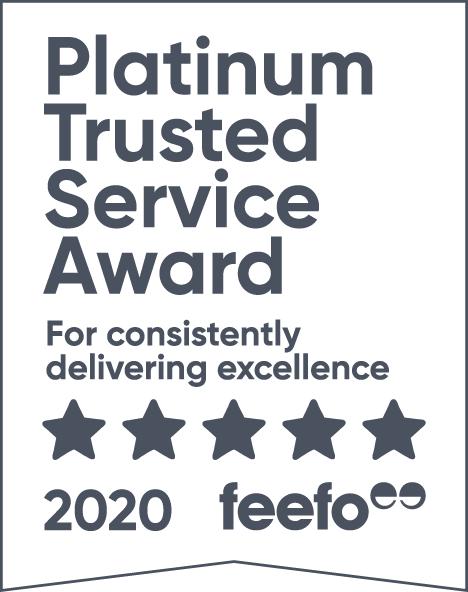 Feefo 2020 Platinum Service Award